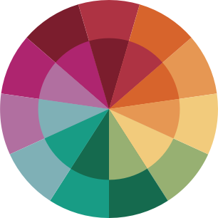 The A Color Story Company logo